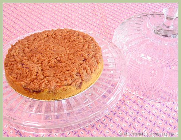 Blackberry Jam Swirled East Coast Coffee Cake - From Vegetate, Vegan Cooking & Food Blog