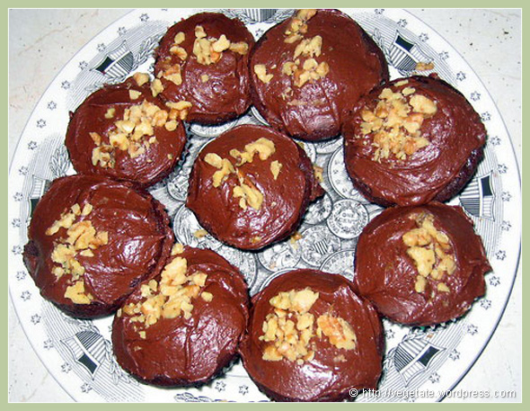 Brooklyn Brownie Cupcakes - From Vegetate, Vegan Cooking & Food Blog