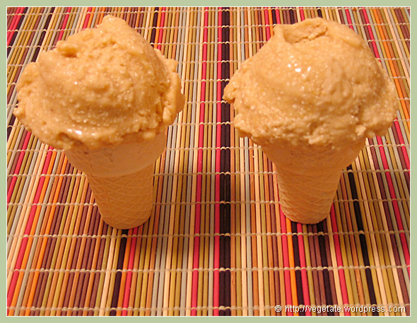 Buttered Popcorn Ice Cream - From Vegetate, Vegan Cooking & Food Blog
