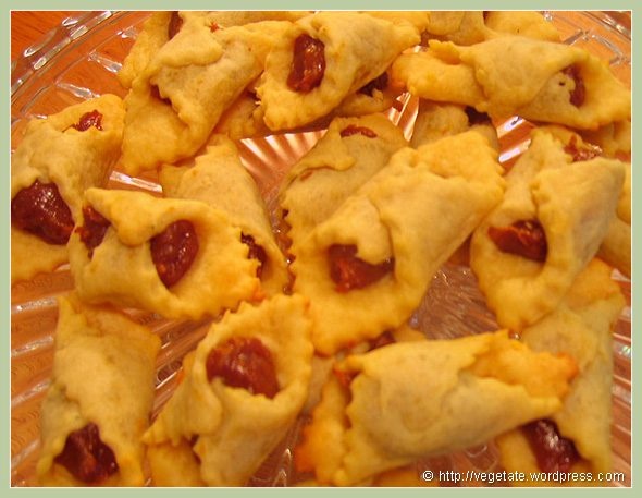 Apricot Cream Cheese Cookies - From Vegetate, Vegan Cooking & Food Blog