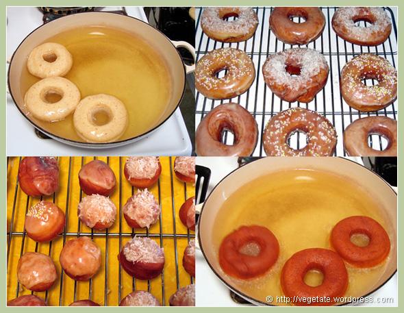 Homemade Doughnuts! - From Vegetate, Vegan Cooking & Food Blog