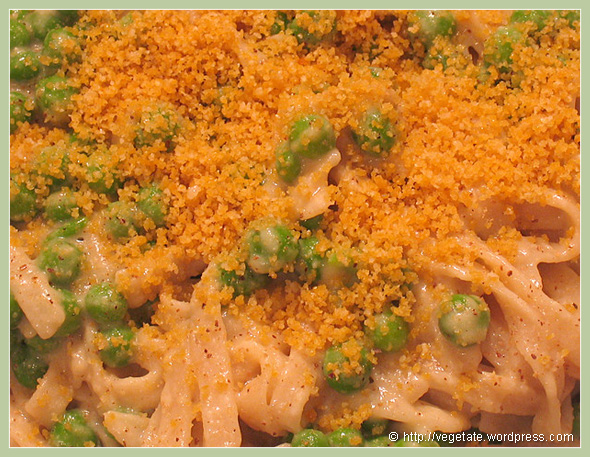 Creamy Fettucine Alfreda - From vegetate, Vegan Cooking & Food Blog