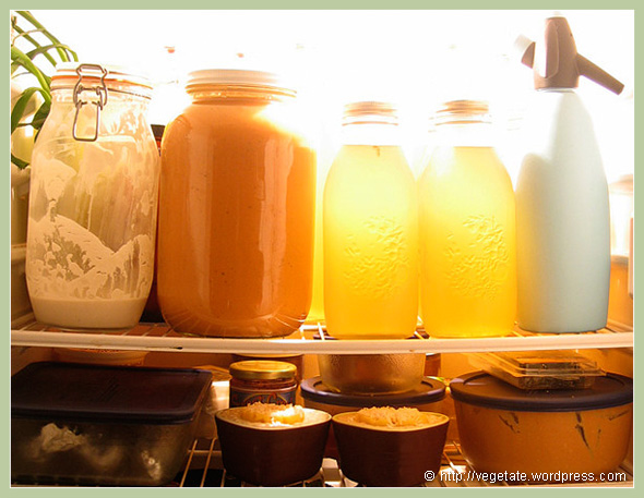 What's in the Fridge? - From Vegetate, Veagn Cooking & Food Blog