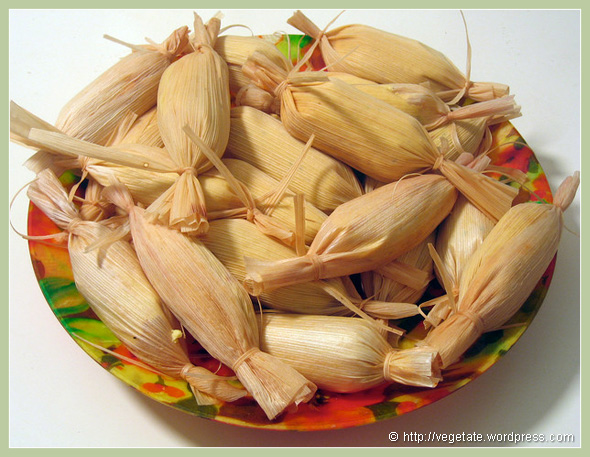 Hot Tamales - from Vegetate, Vegan Cooking and Food Blog