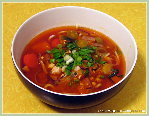 Kabocha-Udon Winter Stew - from Vegetate, Vegan Cooking and Food Blog