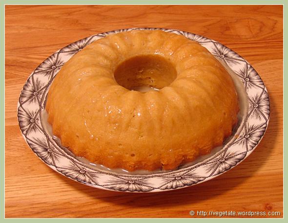 Lemon-Lime Sunshine Bundt Cake - from Vegetate, Vegan Cooking and Food Blog