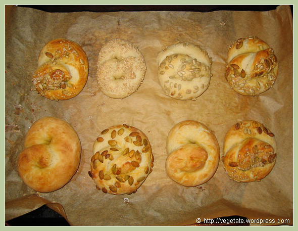 Soft Pretzels - from Vegetate, Vegan Cooking and Food Blog