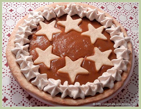 Seasonal Pumpkin Pie - from Vegetate, Vegan Cooking and Food Blog