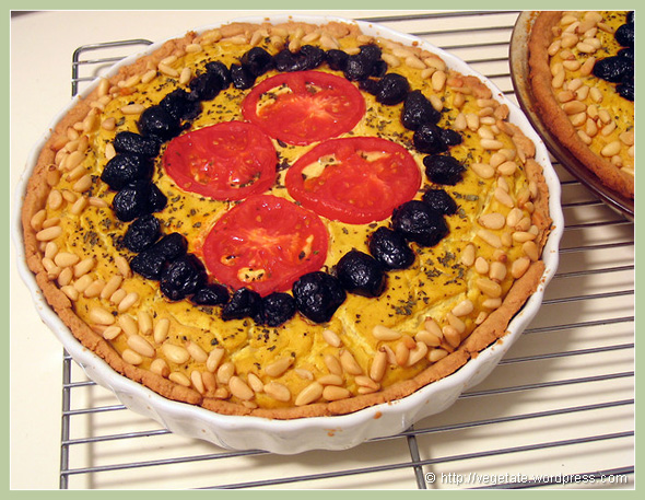 Le Quiche Vegan - from Vegetate, Vegan Cooking and Food Blog
