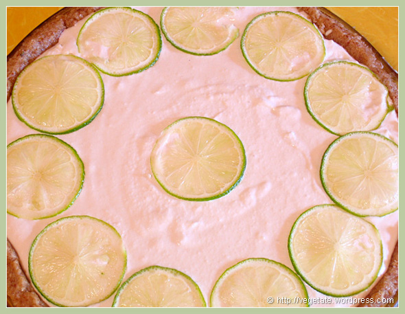 """I Am Awakening"" Raw Key Lime Pie - from Vegetate, Vegan Cooking and Food Blog"