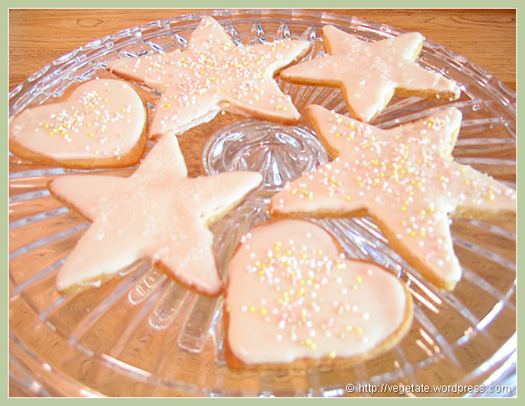 Sugar Cookies - from Vegetate, Vegan Cooking and Food Blog