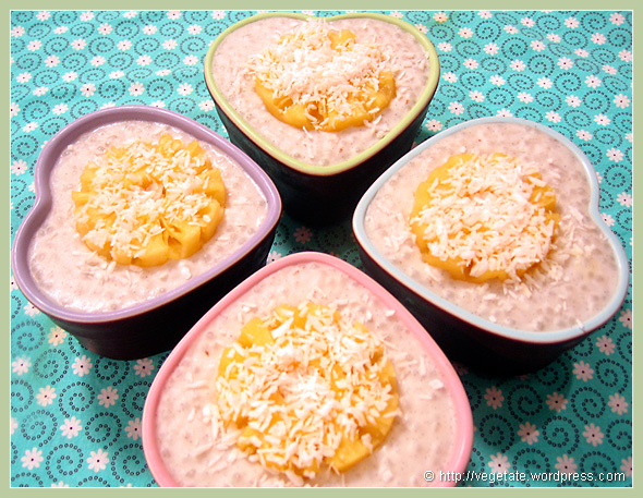 Tropical Tapioca Pudding - from Vegetate, Vegan Cooking and Food Blog