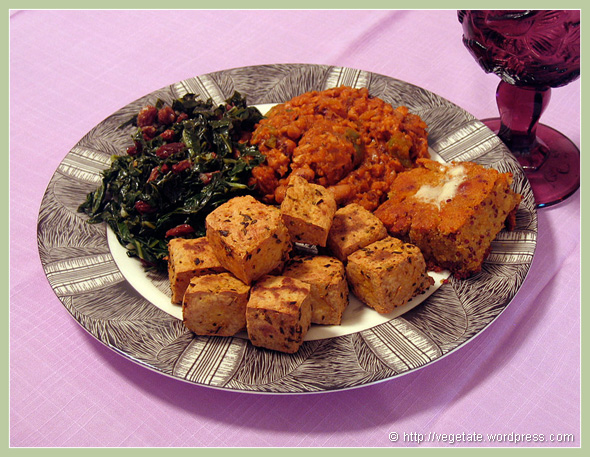 Vegan Soul Food - from Vegetate, Vegan Cooking and Food Blog