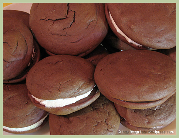 Whoopie Pies - from Vegetate, Vegan Cooking and Food Blog
