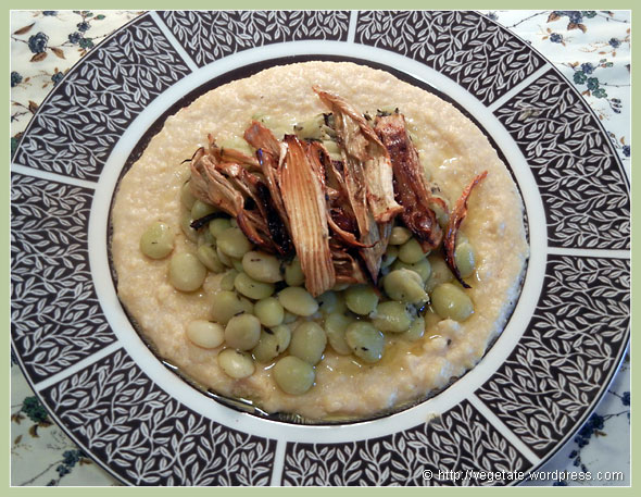 Savory Grits w/Sauteed Lima Beans, Roasted Fennel, & Thyme ~ From Vegetate, Vegan Cooking & Food Blog