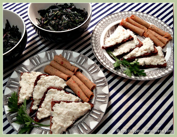 Keith's Tasty Garlic Cheese ~ From Vegetate, Vegan Cooking & Food Blog