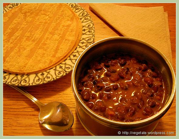 Soy Chorizo Black Bean Stew ~ From Vegetate, Vegan Cooking & Food Blog