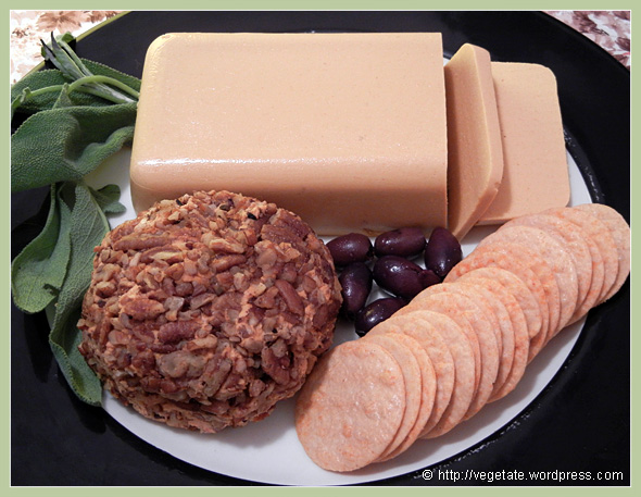 Cheese Platter ~ From Vegetate, Vegan Cooking & Food Blog