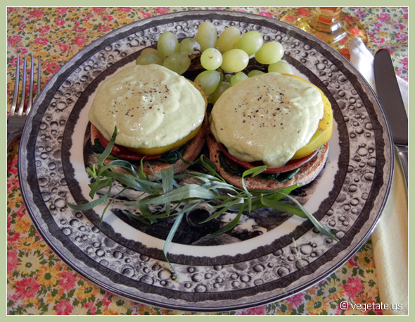 Breakfast Benedicts Florentine ~ From Vegetate, Vegan Cooking & Food Blog