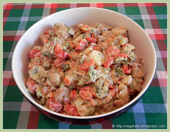 BLT Potato Salad ~ From Vegetate, Vegan Cooking & Food Blog
