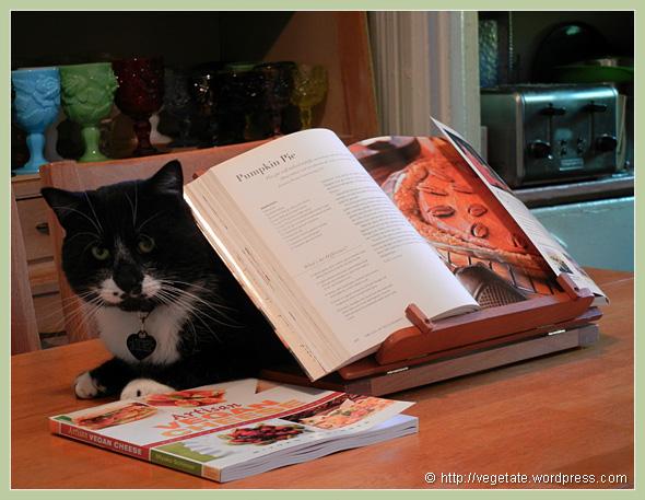 Kitchen Kitty ~ From Vegetate, Vegan Cooking & Food Blog