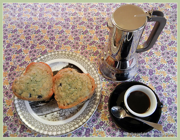 Blueberry Orange Muffins ~ From Vegetate, Vegan Cooking & Food Blog