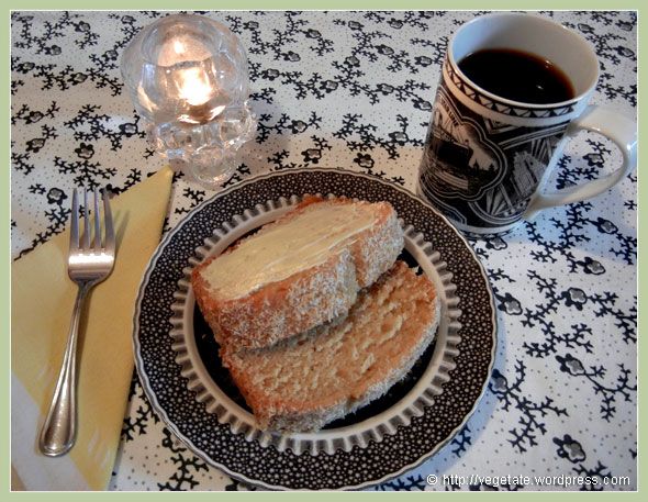 Pound Cake ~ From Vegetate, Vegan Cooking & Food Blog