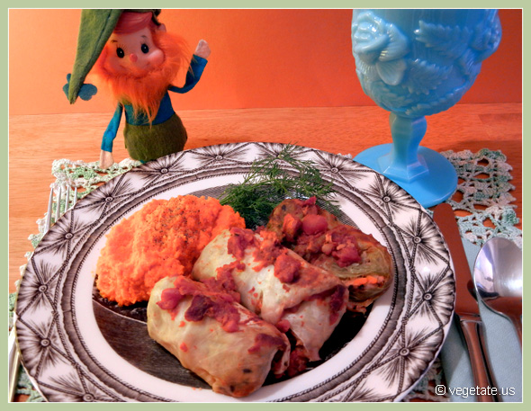 Tempeh & Barley-Stuffed Cabbage Rolls ~ From Vegetate, Vegan Cooking & Food Blog