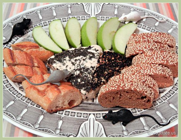 Marjoram & Peppercorn Brie ~ From Vegetate, Vegan Cooking & Food Blog