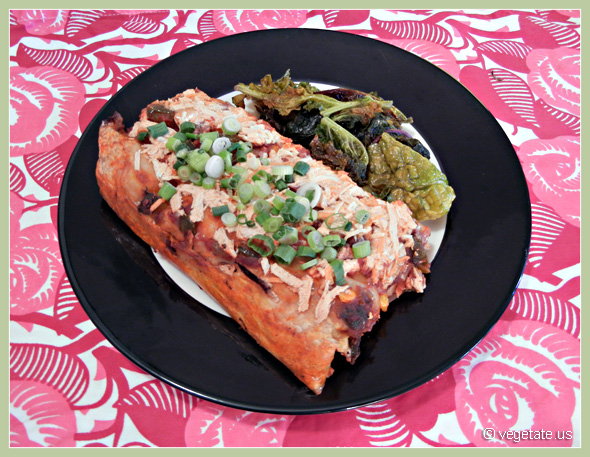 Bean & Cheese Enchiladas ~ From Vegetate, Vegan Cooking & Food Blog