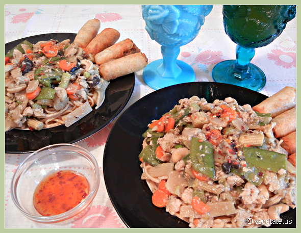 Vegan Chicken Chow Mein ~ From Vegetate, Vegan Cooking & Food Blog