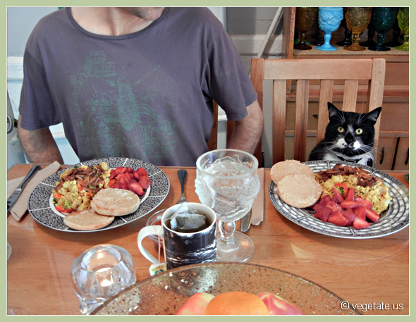Potato, Tempeh, & Tofu Scramble ~ From Vegetate, Vegan Cooking & Food Blog