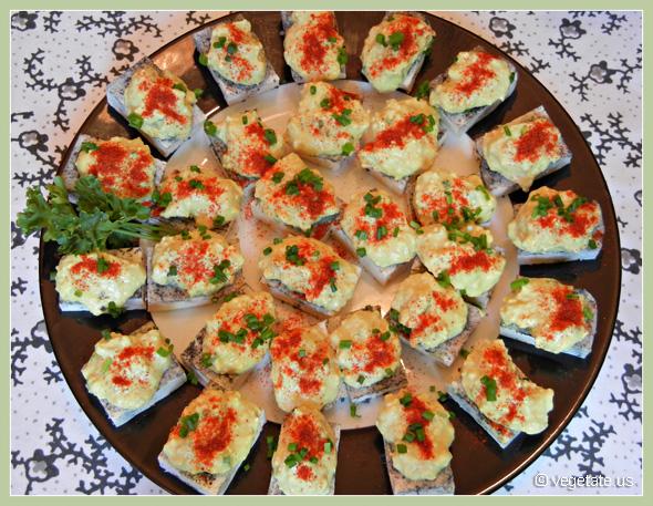 Deviled Tofu Bites ~ From Vegetate, Vegan Cooking & Food Blog
