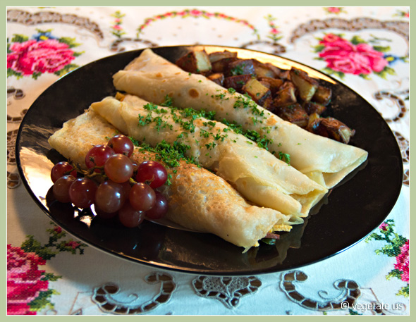 Vegan Denver Crepes ~ From Vegetate, Vegan Cooking & Food Blog