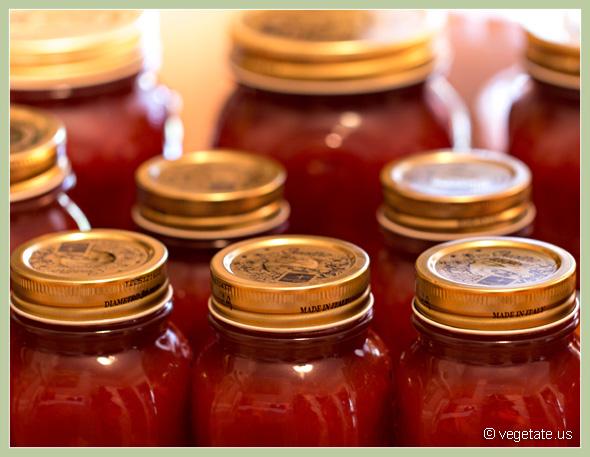 Red Cherry Plum Jam ~ From Vegetaet, Vegan Cooking & Food Blog
