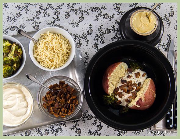 Baked Potato Bar ~ From Vegetate, Vegan Cooking & Food Blog