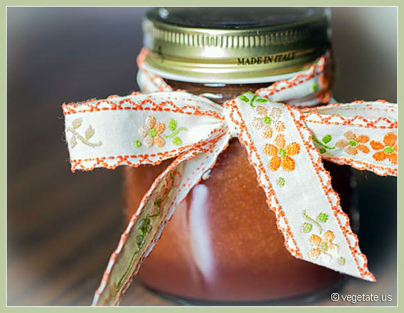 Cherry Plum Jam ~ From Vegetate, Vegan Cooking & Food Blog