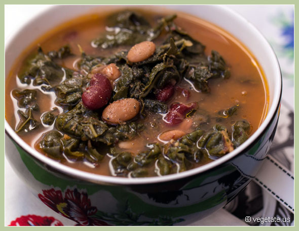 Rustic Italian Soup ~ From Vegetate, Vegan Cooking & Food Blog