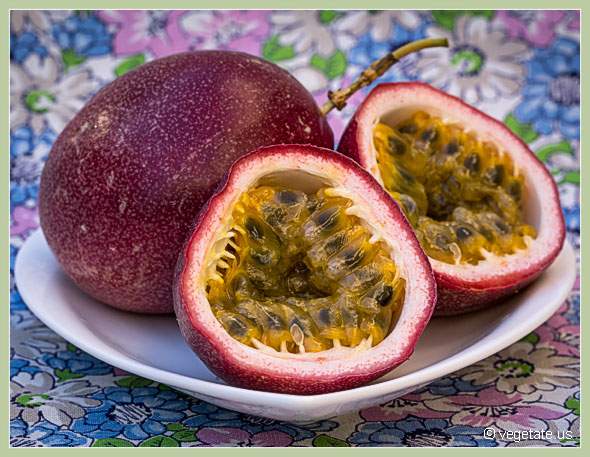 Passion Fruit ~ From Vegetate, Vegan Cooking & Food Blog
