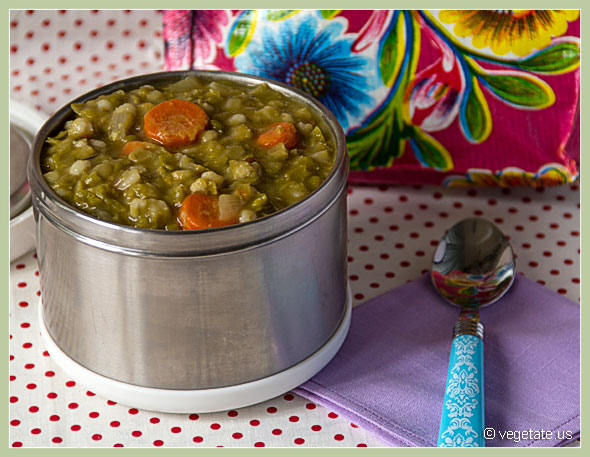 Smoky Chipotle Pea Soup ~ From Vegetate, Vegan Cooking and Food Blog