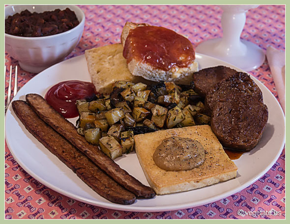 Grand Vegan Breakfast ~ From Vegetate, Vegan Cooking & Food Blog