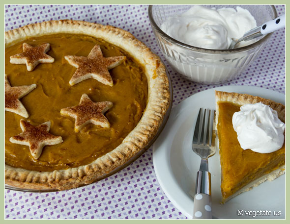 Voluptuous Pumpkin Pie ~ From Vegetate, Vegan Cooking & Food Blog