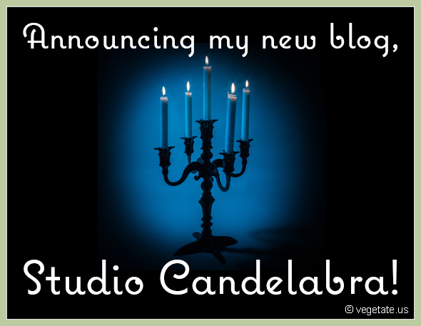 Introducing my new blog, Studio Candelabra!
